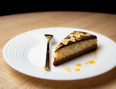 Тарт шоколадно-кокосовый